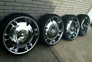 24 Inch Dvinci Rims Like New Pickup Only