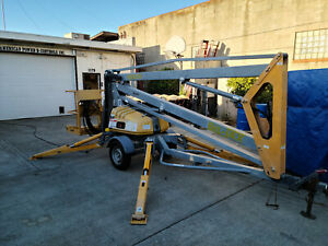 Bil jax Xlb 4319 Electric Towable Boom Lift Man Aerial Platform
