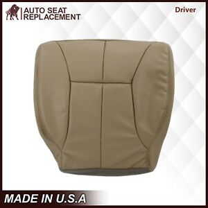 1998 1999 2000 2001 2002 Dodge Ram 1500 Slt Driver Bottom Vinyl Seat Cover Tan