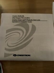 Crestron Gls lol 6502416 Green Light Photosensor Open loop New