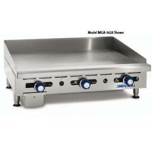 Imperial Imga 4828 48 Manual Control Gas Griddle