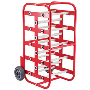 Wire Reel Caddy Wire Spool Rack 1 4 5 axles Multiple Axle Wire Cable Caddy