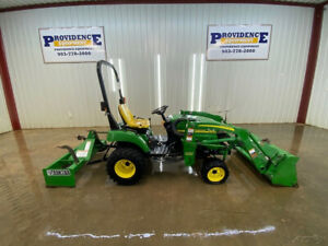 2007 John Deere 2305 Hst Orops With 200 Cx Loader Quick Attach 4wd