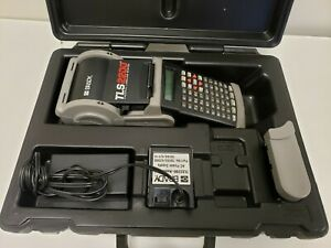Brady Tls2200 Thermal Label Printer W Adapter And Case