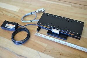 New Dover Mmx Linear Servo Motor Actuator Stage 150mm Travel Signum 10nm Encoder