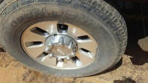 Full Set Of Wheels Rims With Caps 18x8 Oem 08 09 10 Ford F250 F350