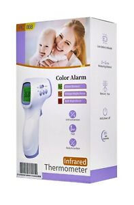 Infrared Thermometer Digital Non contact Thermometer Gun With Three Color Lcd