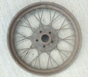 1926 1927 Model T Ford 21 Inch Wire Spoke Wheel Original 5 Lug 5