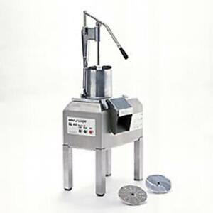 Robot Coupe Cl60 Pusher e 3 Hp Heavy Duty Food Processor With Pusher Feed