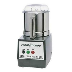 Robot Coupe R301 Ultra B 3 1 2 Qt Commercial Food Processor
