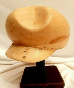 05 Vintage Antik Millinery Hat Blocks Wooden Hat Blocks Art Deco