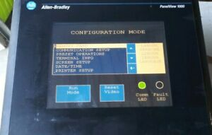 Allen Bradley Panelview 1000 2711 t10c10 Ser B Color Touch Screen