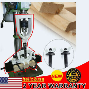 Woodworking Accessorie Drilling Drill Locator Guide Tool Mortising Bench Machine