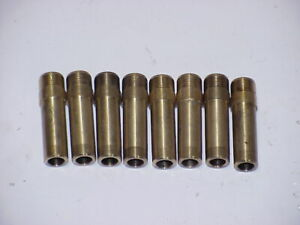 8 Bronze 11 32 Valve Guides X 2 00 Long From A Set Of New Heads