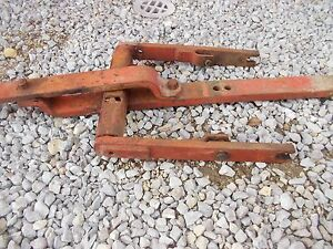 Allis Chalmers Wd Wd45 45 Tractor Ac Snap Coupler Drawbar Draw Bar Assembly