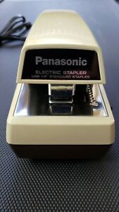 Vintage Panasonic Electric Stapler As 300 Commercial Heavy Duty Made In Japan