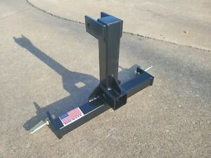 Cat 0 Farm Tractor Skid 3 Point Hitch Drawbar Receiver Hitch Usa Made
