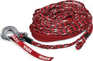 Warn 102558 3m Glow Spydura Nightline Synthetic Winch Rope 3 8 X100 87915