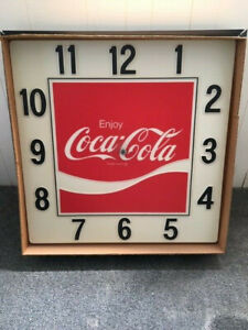 Coca Cola Clock - Brand New ! Large 36