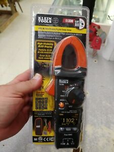 Klein Tools Cl330 400a Ac Auto ranging Digital Clamp Meter Trms True Rms Oled