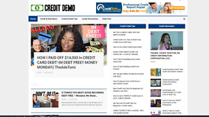 Credit And Debt Relief Website Affiliate Product Website 100 Automated