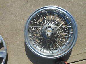 Chevy Caprice Spoke Wire Hubcap Wheel Cover Hub Cap 1981 1996 15 Lock