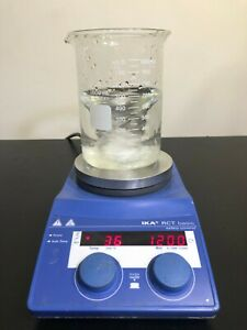 Ika Rct Basic Hot Plate Magnetic Stirrer Stirring Digital 120v Mix