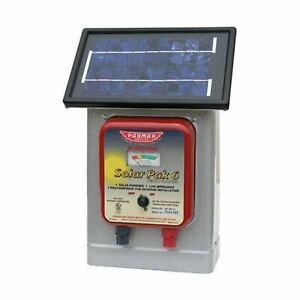 Parmak Df Sp Li Solar Pak 6 Volt Battery 25 Mile Range Electric Fence Charger