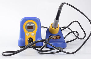 Hakko Fx888d 23by Digital Soldering Station Fx 888d Fx 888 blue And Yellow