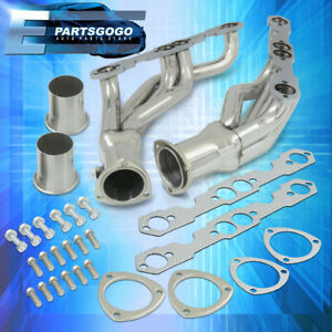 For 88 97 Chevy Gmc C k Pickup 5 0 5 7l V8 Steel Exhaust Racing Headers Manifold