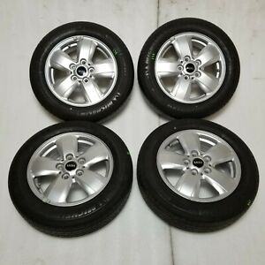 2016 Mini Cooper 15 5 spoke Alloy Wheel Rim 175 65 84h 9 32 Tire Set Kit Oem