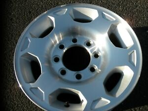 One 17 Chevy Gmc Sierra Hd2500 Hd3500 Alloy Rim 17 Inches 8 Lugs Wheel Original