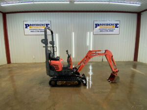 2013 Kubota K008 3 Mini Track Excavator With Telescopic Tracks