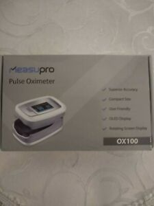 New Measupro Pulse Oximeter Ox100