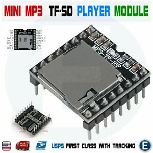 Mini Mp3 Player Module With Simplified Output Speaker U disk Tf Sd For Arduino