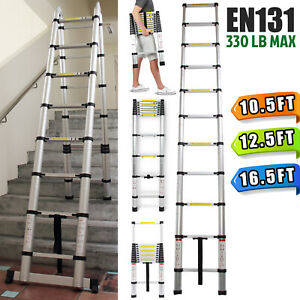 16 5ft12 5ft 10 5ft Step Ladder Extensiontelescoping Portable Folding Telescopic