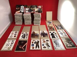 Lot Of 300 Official Star Wars Vending Machine Stickers 3x4 5 W sleeves New