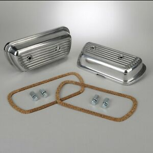 1960 1979 Vw Ghia Beetle super 1200 1600cc Finned Aluminum Valve Covers 300345