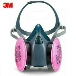 3m 7503 Half Facepiece Respirator W 1 Pair 2097 P1oo Filters Size Large