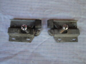 1967 1970 Ford Mustang Boss Shelby Rear Fold Down Seat Latches Original Pair