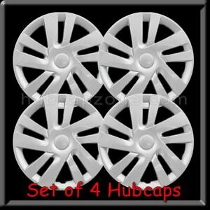 4 15 Silver Nissan Nv200 Hubcaps Fits 2013 2018 Hub Caps Nv 200 Wheel Covers