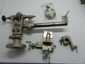 Manhora Watchmakers Lathe With Cross Slide And Accessories Very Rare
