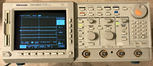 Tektronix Digitizing Oscilloscope Tds640a 500mhz 2gs s W dsp Math Option