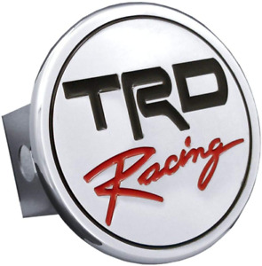 Toyota Trd Racing Chrome Metal Tow Hitch Cover Official Licensed