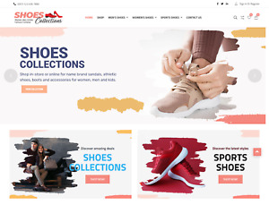 Shoes Collection Shop Wordpress Dropshipping Website Free Hosting
