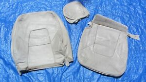 99 03 Volvo S80 2 9l Oem Oak Arena Beige Driver Left Side Leather Seat Covers