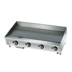 Star 648mf Star max 48 In Manual Control Gas Griddle