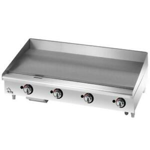 Star 648tf Star max 48 In Thermostatic Control Gas Griddle