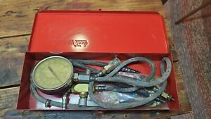 Vintage Snap On Mt321b Fuel Injection Test Set With Instructions In Box