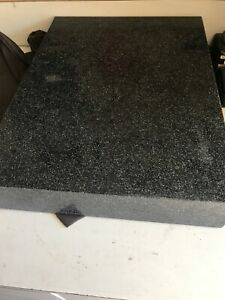 Black Granite Surface Flat Plate 24 X 18 X 4 206lbs Local Pick Only